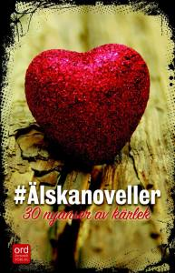 Omslaget #Älskanoveller
